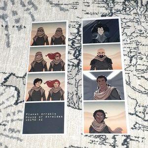 Dune Photostrip Prints/Bookmarks